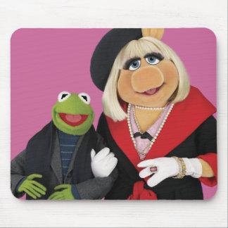 Kermit y Srta. Piggy Tapetes De Ratón