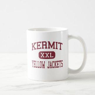 Kermit - Yellow Jackets - Junior - Kermit Texas Classic White Coffee Mug