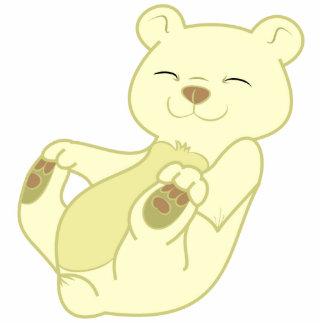 Kermode Bear Cub Photo Sculpture Ornament