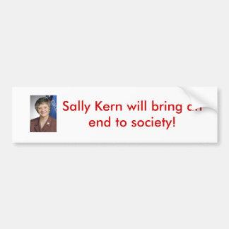 Kern%20with%20flags, Sally Núcleo de condensación  Pegatina Para Auto