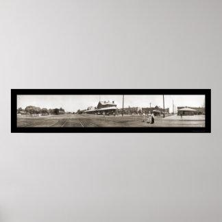 Kern CA Panorama Photo 1909 Poster
