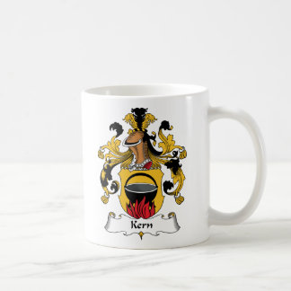 Kern Family Crest Classic White Coffee Mug