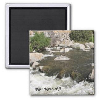 Kern River, CA Magnet! 2 Inch Square Magnet