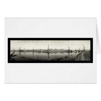 Kern River, CA Oil Photo 1910 Card