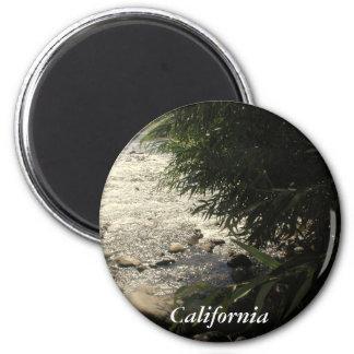 Kern River, California (1) 2 Inch Round Magnet