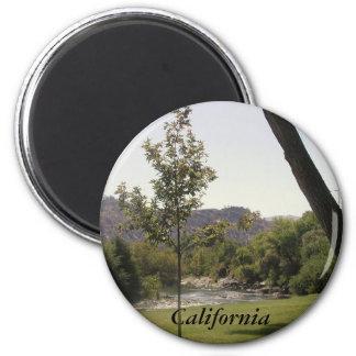 Kern River, California (2) 2 Inch Round Magnet