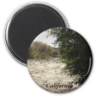 Kern River, California 2 Inch Round Magnet