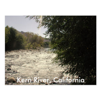 Kern River, California Postcard