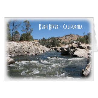 Kern River Greeting Card! Card