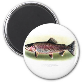 Kern River Trout 2 Inch Round Magnet