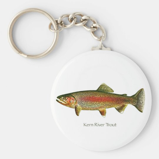 Kern River Trout Keychain