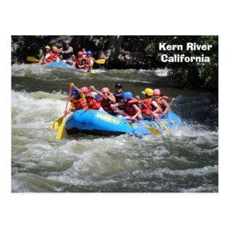 Kern River White Water Rafting Postcard! Postcard