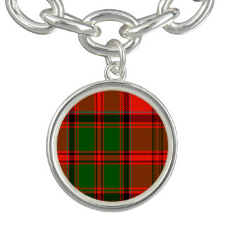 Kern Scottish Tartan Charm Bracelets