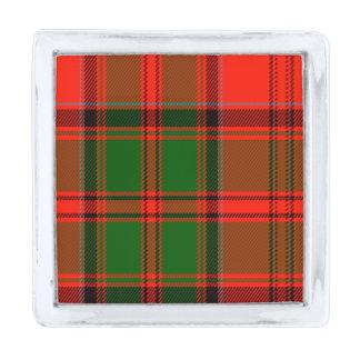 Kern Scottish Tartan Silver Finish Lapel Pin