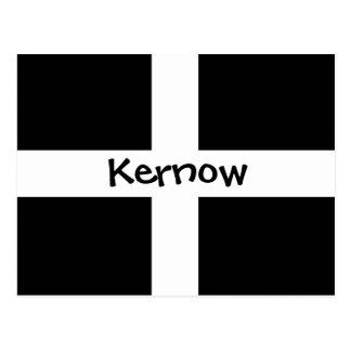 Kernow - Cornualles Tarjeta Postal