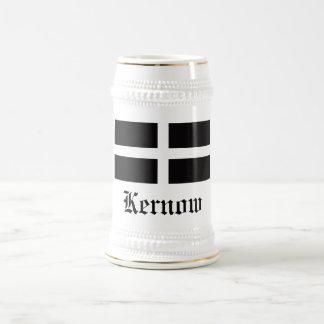 KERNOW (CORNWALL) BEER STEIN