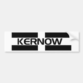 KERNOW FLAG BUMPER STICKER