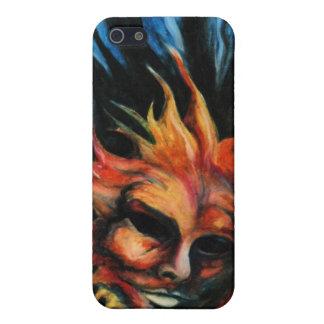 Kerosene Fireball Sun Art Phone Case Cover For iPhone 5