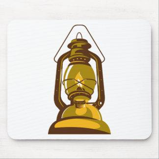 kerosene oil lamp retro mouse pad