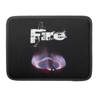 Kerosene stove flame shot. sleeves for MacBooks
