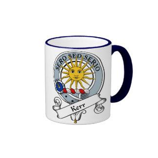 Kerr Clan Badge Ringer Coffee Mug