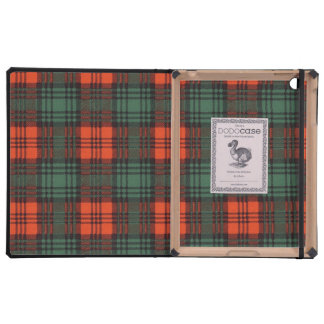 Kerr clan Plaid Scottish tartan Covers For iPad