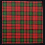 "Kerr Cloth Napkin<br><div class=""desc"">Kerr clan tartan plaid</div>"