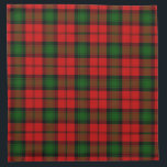"Kerr Cloth Napkin<br><div class=""desc"">Kerr clan tartan plaid</div>"