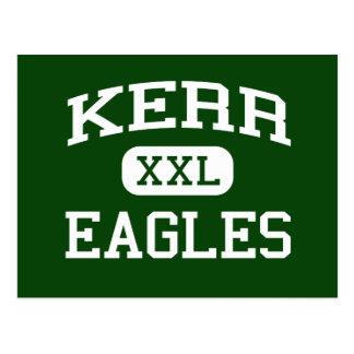 Kerr - Eagles - joven - Del City Oklahoma Postales