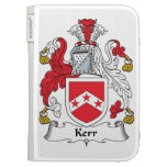 Kerr Family Crest Kindle 3 Cases