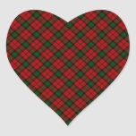Kerr Scottish Clan Tartan Design Sticker