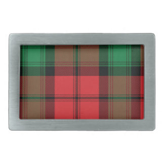 Kerr Scottish Tartan Belt Buckle