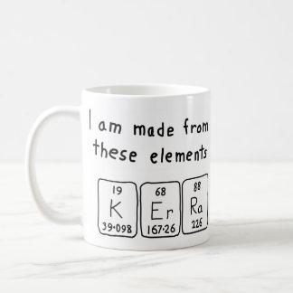 Kerra periodic table name mug