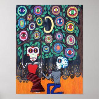 Kerri Ambrosino Art Poster Day of The Dead