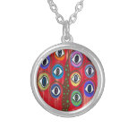 Kerri Ambrosino Art Tree of Life Evil Eye Necklace