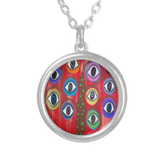 Kerri Ambrosino Art Tree of Life Evil Eye Necklace