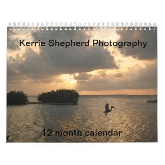 Kerrie Shepherd Photography 12 Month Calendar