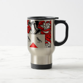 Kerrigan Coat of Arms 15 Oz Stainless Steel Travel Mug