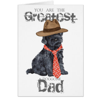 Kerry Blue Dad Greeting Card