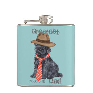 Kerry Blue Dad Flask
