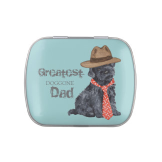 Kerry Blue Dad Jelly Belly Candy Tin