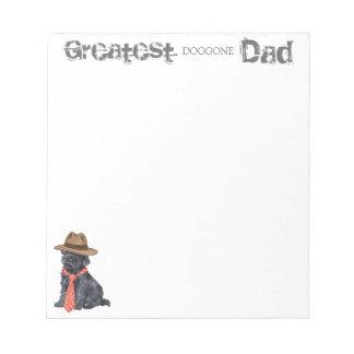 Kerry Blue Dad Notepads