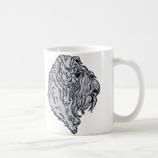 Kerry Blue Terrier Bust Classic White Coffee Mug
