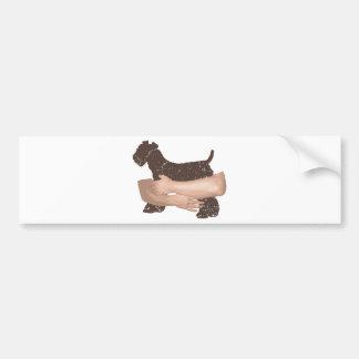 Kerry Blue Terrier Car Bumper Sticker