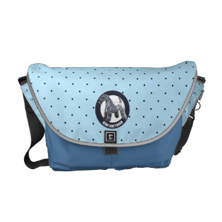 Kerry Blue Terrier Courier Bag