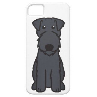 Kerry Blue Terrier Dog Cartoon iPhone 5 Covers