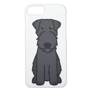 Kerry Blue Terrier Dog Cartoon iPhone 7 Case