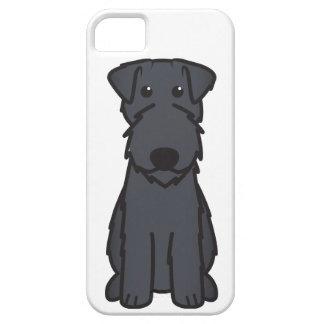 Kerry Blue Terrier Dog Cartoon iPhone SE/5/5s Case