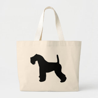 Kerry Blue Terrier Gear Large Tote Bag
