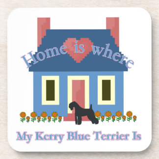Kerry Blue Terrier Home Is Coaster